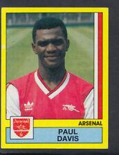 Panini Football 1987 Sticker - No 17 - Paul Davis - Arsenal (S874)