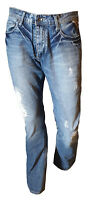 Jeans Pantalone Uomo Casual Sbiadito Vissuto Vintage JACK & JONES Clark Tag 45