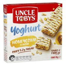 Uncle Tobys Yoghurt Muesli Bars Honeycomb 6 Pack 185g