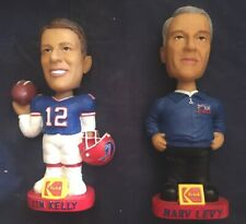 Jim Kelly/Marc Levy Lot  Buffalo Bills Bobblehead Limited  Kodak Free Shipping