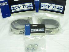 Yamaha NEW GYT-R CF Raptor Round Muffler Strap kit GYT-5NL93-08-CF-KT YFZ