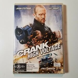 Crank: High Voltage | DVD Movie | Action/Comedy | 2009 | Jason Statham| Used