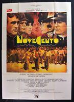 Werbeplakat Novecento Bertolucci De Niro Depardieu Sanda Quarter Wurde M302
