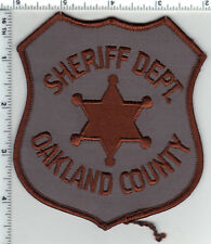 Oakland County Sheriff (Michigan) 2nd Issue  Shoulder Patch