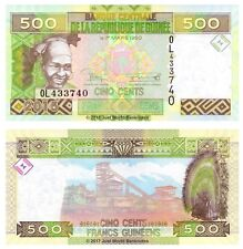 Guinea 500 Francs 2015 P-47 Banknotes UNC