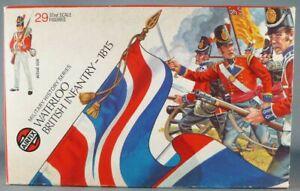 Airfix 51461-9 1/32 Waterloo Anglais Infanterie 1815 Proche Neuf Boite 1973