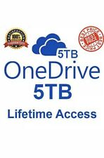 OneDrive 5TB ✔️ LifeTime Account ⭐ Custom Account ⭐ Fast Delivery ✔️