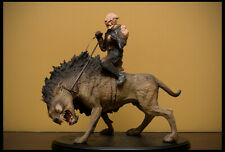 Sideshow Weta Lord of the Rings Gothmog on Warg Statue - New