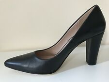 Jigsaw Black Court / High-Heeled Pump Shoes, Size 40 BNWT
