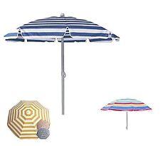 Ombrellone Mare Protezione Uv Parasole 180 Cm Terrazza Spiaggia Vacanze Sole dfh