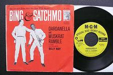 "7"" Bing & Satchmo - Dardanella - US MGM Promo"