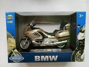 WELLY BMW K1200 LT 1:18 DIE CAST NEW LICENSED MOTORCYCLE
