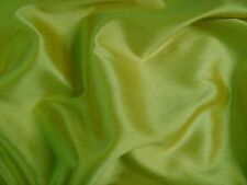 Pistachio Faux Silk Polyester Dress Fabric 150cm SOLD BY THE METRE FREE P+P
