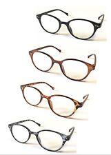 L107 Retro Vintage Gafas de Lectura/Lente Super Moda Redondo Diseño ^^^^^