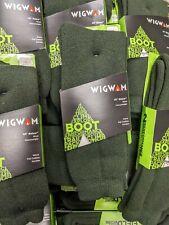Wigwam Merino Wool Winter Socks Warm Thick F2330 Large 88A Evergreen Size 9-12