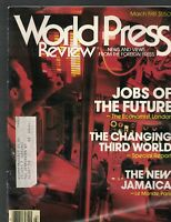 World Press Review Magazine March 1981 The New JAMAICA Changing Third World