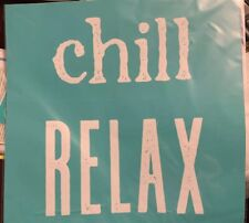 New Chalk Couture Transfer Chill Relax Duo