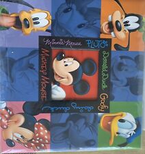 New listing Disney Mickey Mouse Scrapbook/Memory Book Preowned but Never Used *Photo Safe*