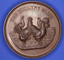Poultry Club founded 1877 Bronze medal boxed 45mm *[18156]