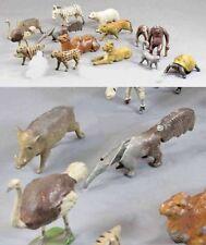 Jouets et jeux anciens animaux en plomb