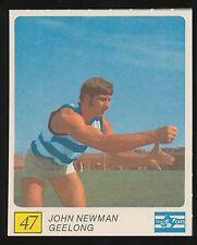 1970 Kelloggs Geelong John Newman Near Mint no 47  Large Card Cats r