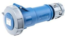 Mennekes 3888 32A IP67 230v 6H 3P Blue Industrial Trailing Socket Connector Plug