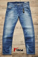 DIESEL BELTHER-R R18T8 SLIM TAPERED NEW MAN / MENS JEANS WHISKERED BLUE 32 34 36