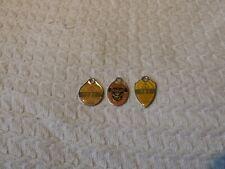 3 x Australian Returned Servicemen's Club Members Badges 1980s