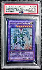 Yu-Gi-Oh! PSA 10 GEM-MT 'Elemental Hero Shining Flare Wingman' (EEN-EN036)