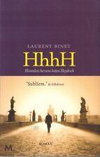 HhhhH (HIMMLERS HERSENS HETEN HEYDRICH) - Laurent Binet