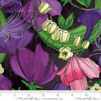 SWEET PEA & LILY Moda quilt fabric 3yds stormy Robin Pickens 48640-24 SHIPS FREE