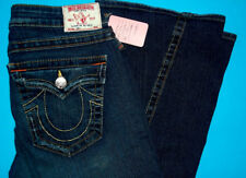 30 x 34 PRE-Owned TRUE RELIGION $216 JOEY CLASSICS Flare JEANS