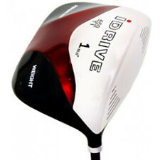 "NEW +1"" LONG SQUARE XL 460cc Black Red DRIVER XXL GOLF CLUB DRIVERS Retail $299"