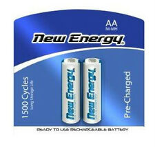 2 Pack AA NiMH 2000mAh 1.2V Pre-Charged 1500 Cycles Battery New