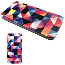 IPHONE Shell 4 Or 5 Pattern Patchwork Triangle No. 2 Case Cover Geometric