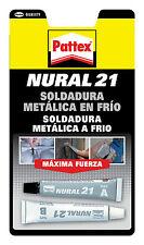 ADHESIVO PATTEX NURAL 21 - PEGAMENTO METAL SOLDADURA REPARADORA METALICA EN FRIO