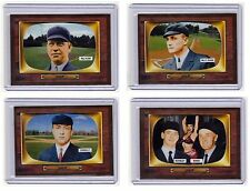 LOT OF 4: Color TV '55 umpires Klem Evans Connolly Runge/McKinley