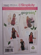 Pattern for 5 Different Aprons CUTE!  Simplicity 2682