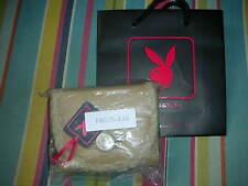 Playboy Bolso Camel Nuevo dará Negro Playboy Bunny portador Bolsa De Regalo Nuevo