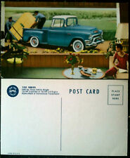 Vintage 1955 GMC 100 Series Truck Original Postcard Chevrolet General Motors