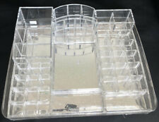 42Slots Plastic Lipstick Holder Display Make Up Organizer Clear Storage RackDg