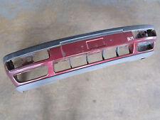 Stoßstange vorne VW Golf 3 Vento LC3T Stoßfänger dunkelrot rot Lippe