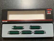 Marklin spur z scale/gauge. SNCB Passenger Car Set. New.