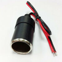 12V/24V Car Auto Female Cigar Cigarette Lighter Socket Plug Connector Adapter