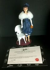 GAY PARISIENNE Barbie Doll  Figurine  LIMITED EDITION MATTEL Hand Painted  COA