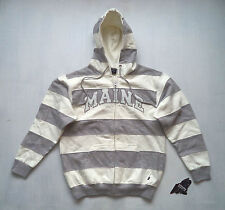 Womens MAINE hoodie Sz S sweatshirt hooded pullover State of football NWT