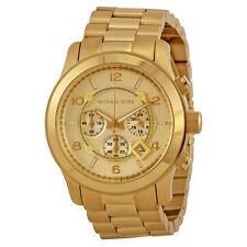 Michael Kors Gold-tone Unisex Watch MK8077-AU