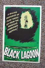 Creature From the Black Lagoon #6  Lobby Card Movie Poster Green