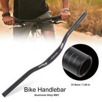 WAKE Aluminum Alloy Mountain Bike Handlebar Bicycle Riser Bar 31.8*620mm Durable