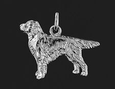 Pendentif  GOLDEN RETRIEVER - Pendant GOLDEN RETRIEVER DOG